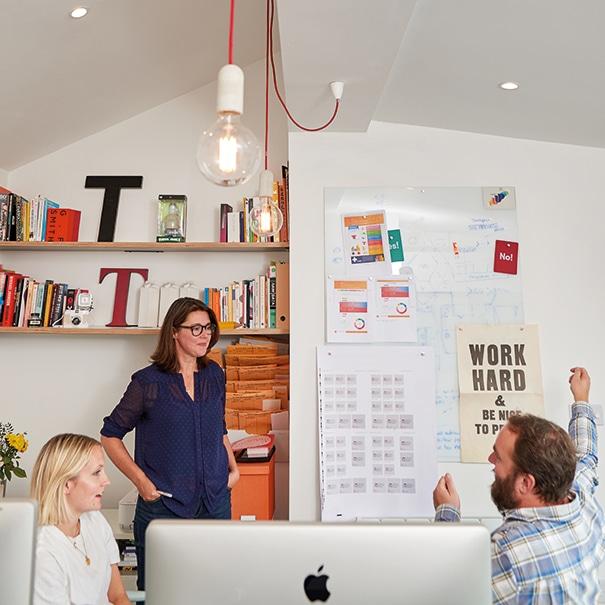 Sue running brand workshop